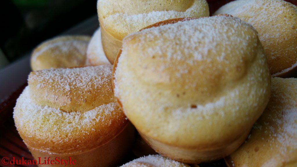 Mini BRIOSE cu GOJI (Fara faina alba/ Sugar free/ Low carb/ Low fat)