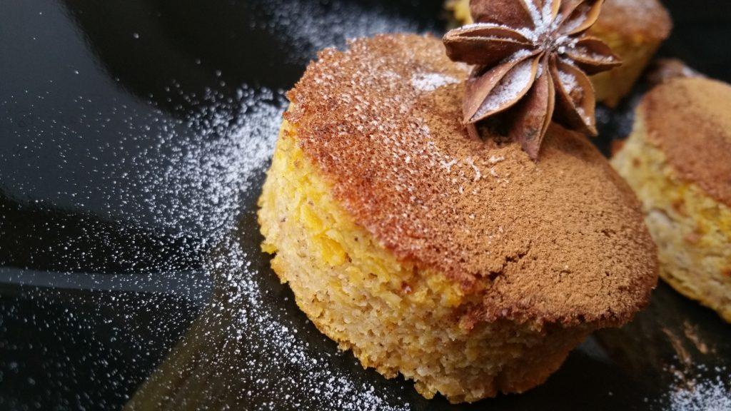 PUMPKIN Sponge (Fara faina alba/ Sugar free/ Low carb/ Low fat/ Gluten Free)