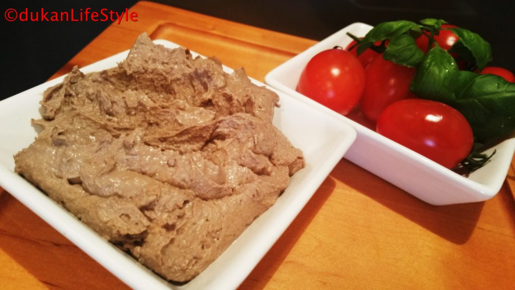 PATE de FICAT (Low carb/ Low fat)