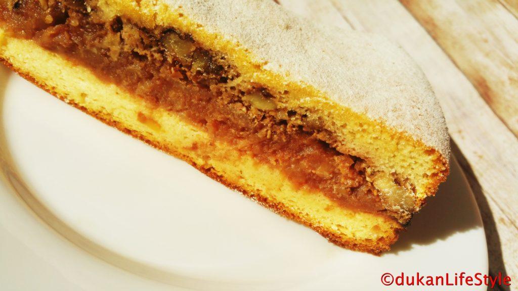 PRAJITURA turnata cu MERE(Fara faina alba/ Sugar free/ Low carb/ Low fat/ Gluten free)