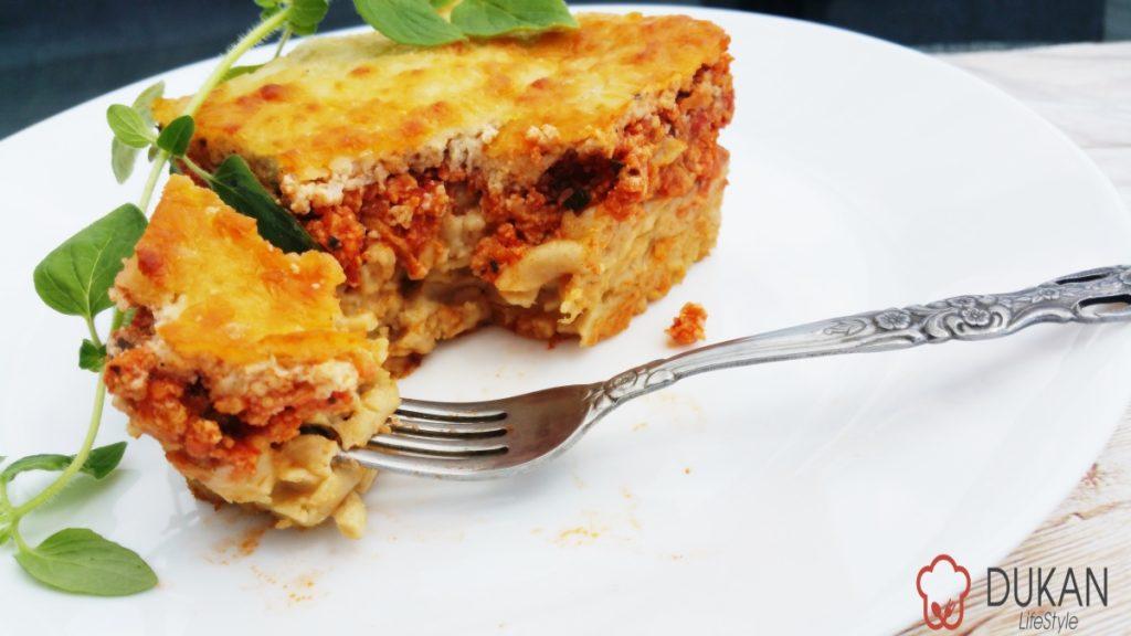how to make low fat lasagna