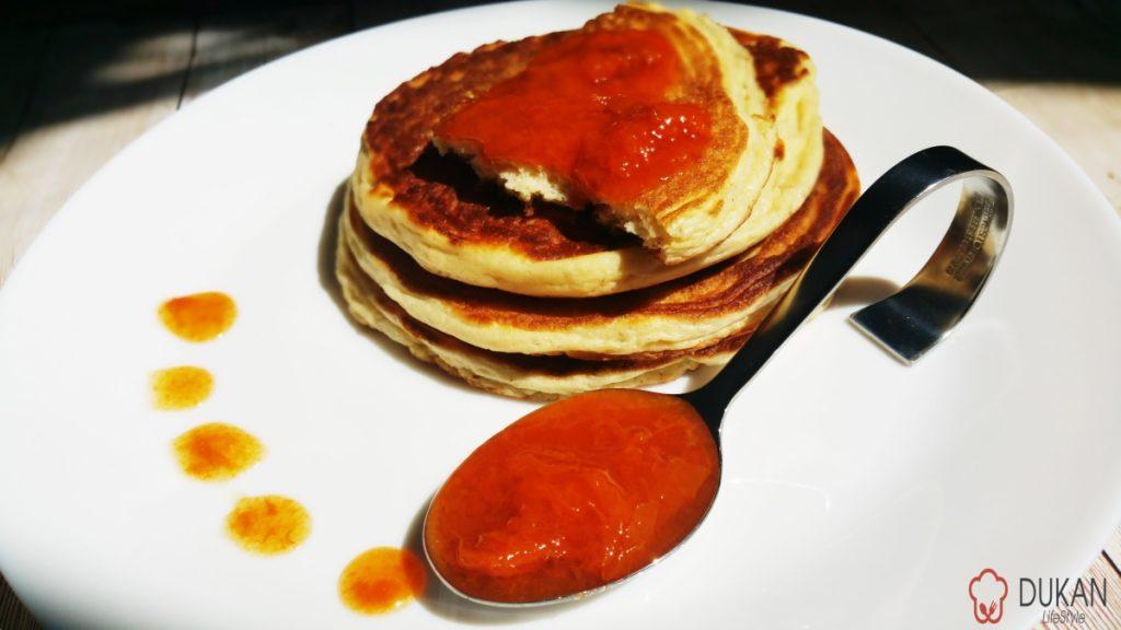 PANCAKES (Fara faina alba/ Sugar free/ Low carb/ Low fat/ Gluten free)