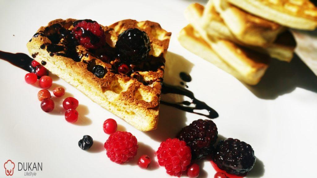 GOFRE / WAFFLES (Fara faina alba/ Sugar free/ Low carb/ Low fat/ Gluten free)