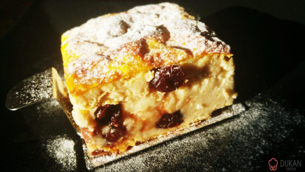 BUDINCA cu PASTE integrale si MERISOR (Sugar free/ Low carb/ Low fat)
