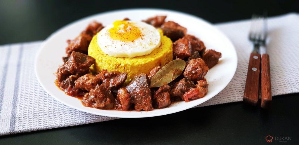 TOCHITURA din PIEPT si MARUNTAIE de CURCAN (Low carb/ Low fat/ dietetica)