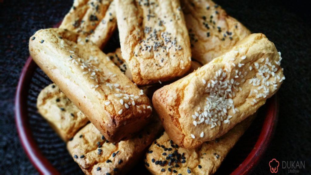 MINI BAGHETE (Fara faina alba/ Sugar free/ Low carb/ Low fat)