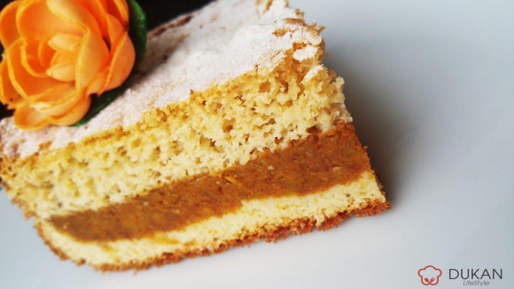 PRAJITURA cu DOVLEAC (Fara faina alba/ Sugar free/ Low carb/ Low fat)