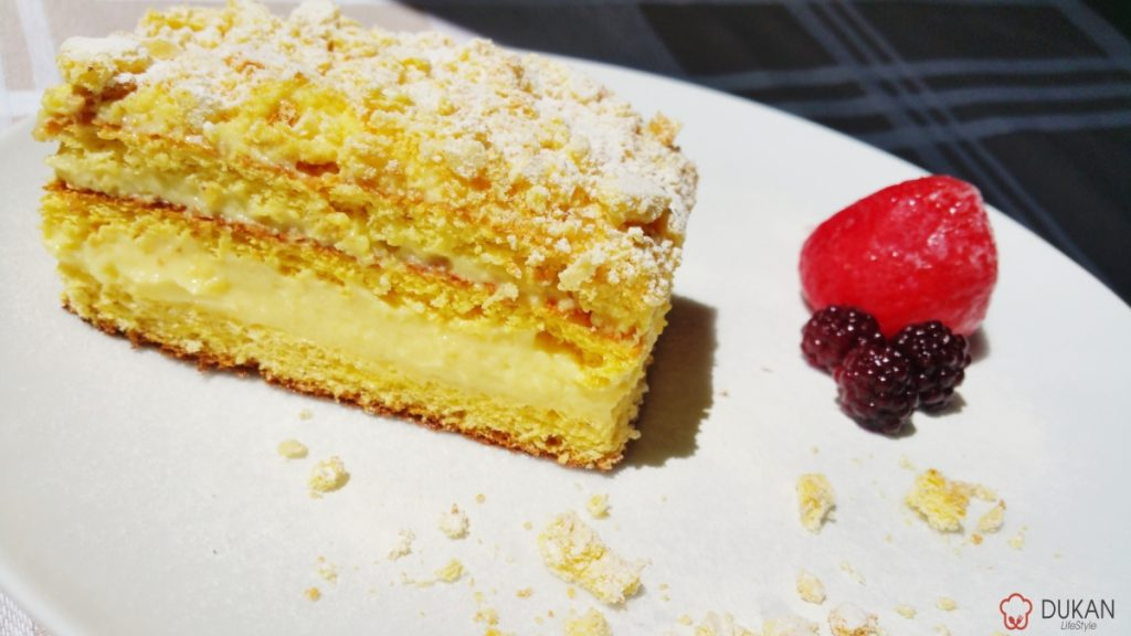 MILLE-FEUILLE / CREMSNIT (Fara faina alba/ Sugar free/ Low carb/ Low fat)