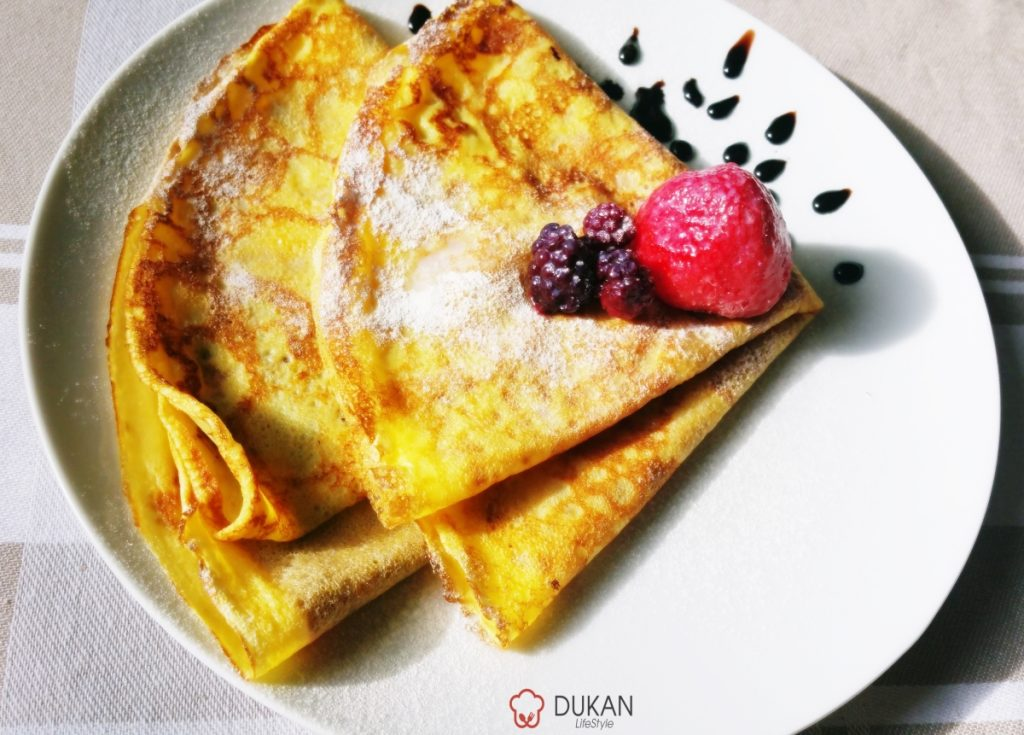 CREPES/CLATITE (Fara faina alba/Sugar free/ Low carb/ Low fat/ Gluten free)