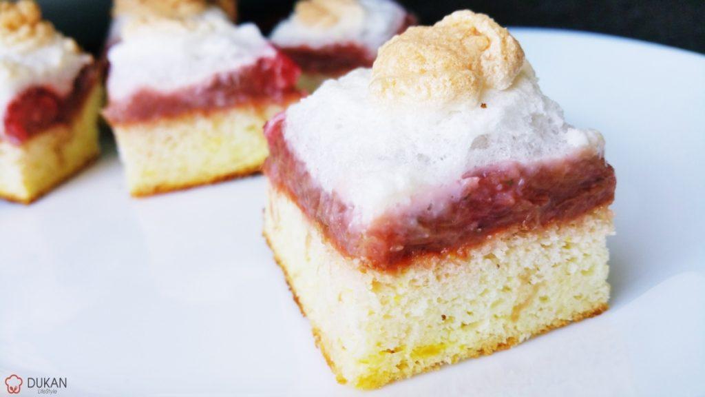 PRAJITURA cu DULCEATA si BEZEA (Fara faina alba/ Sugar free/ Low carb/ Low fat/ Gluten free)