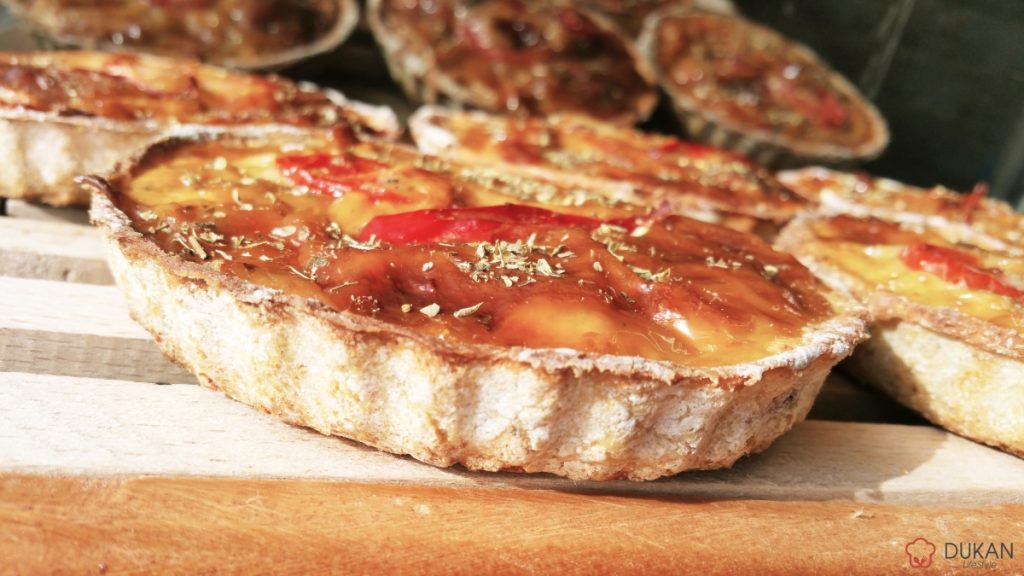 MINI TARTE cu PUI (Fara faina alba/ Low carb/ Low fat/ Gluten free)