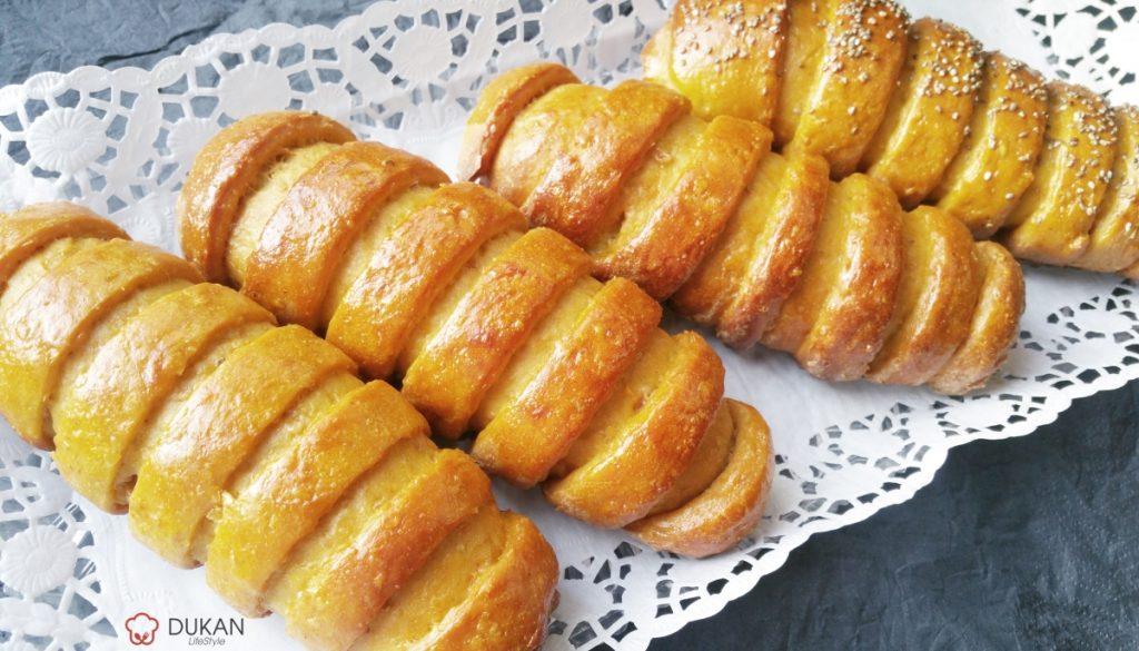 PARIZIENE cu MERE (Fara faina alba/ Sugar free/ Low carb/ Low fat)