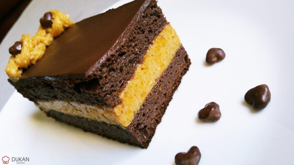TORT cu DOVLEAC si CIOCOLATA (Fara faina alba/ Sugar free/ Low carb/ Low fat/ Gluten free)