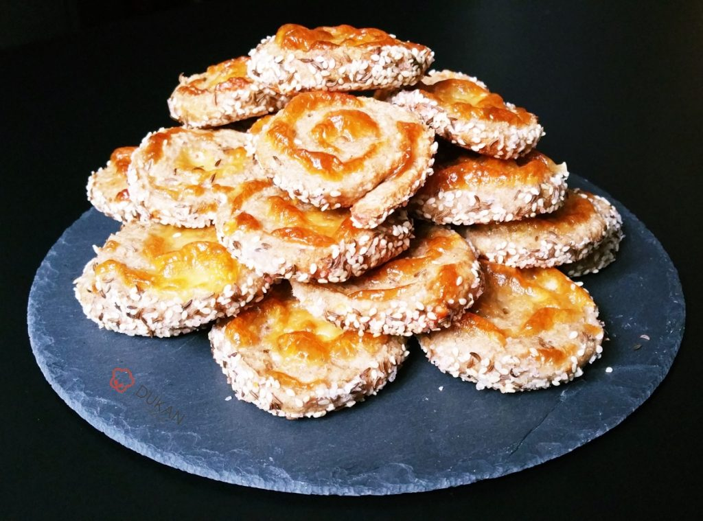 MELCI cu CASCAVAL si SEMINTE (Fara faina alba/ Sugar free/ Low carb/ Low fat)