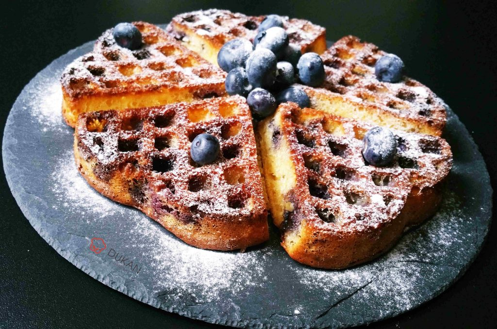 WAFFLES / GOFRE (Fara faina alba/ Sugar free/ Low carb/ Low fat)