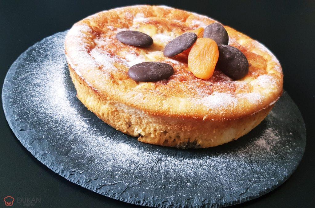 TARTA cu FRUCTE si CIOCOLATA (Fara faina alba/ Sugar free/ Low carb/ Low fat/ Gluten free)