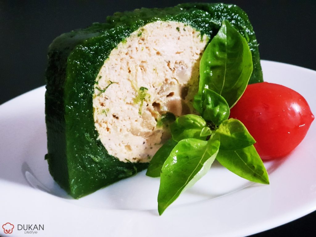 RULADA de CARNE in ASPIC de VERDETURI (Low carb/ Low fat)