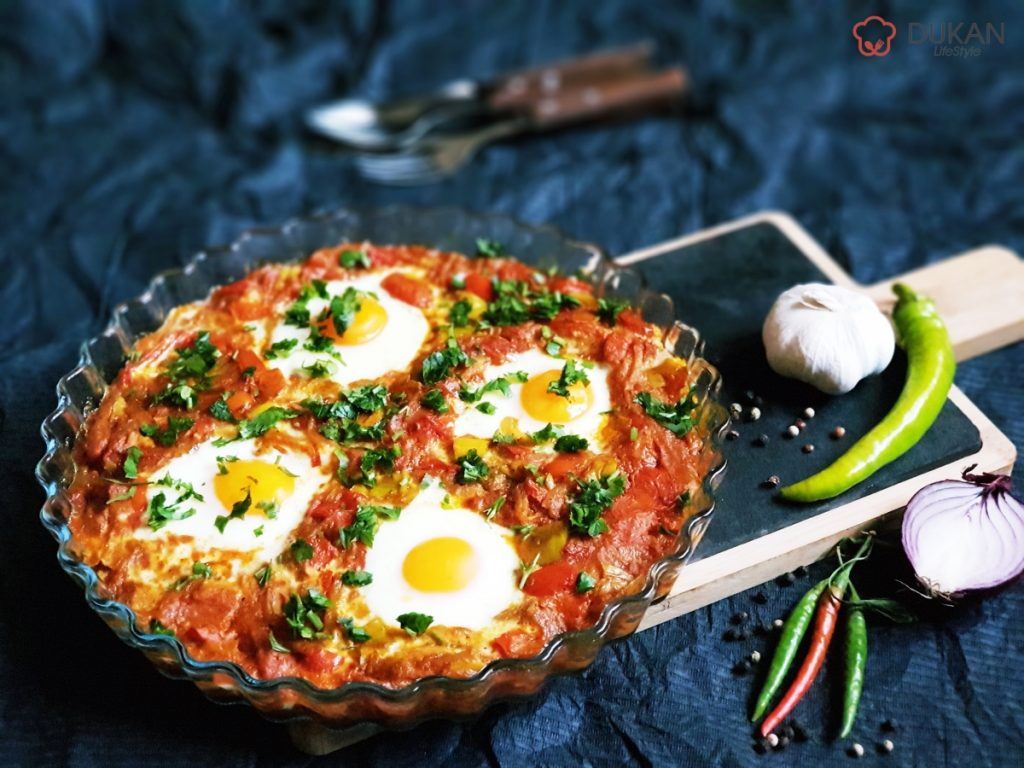 SHAKSHUKA (Low carb/ Low fat)