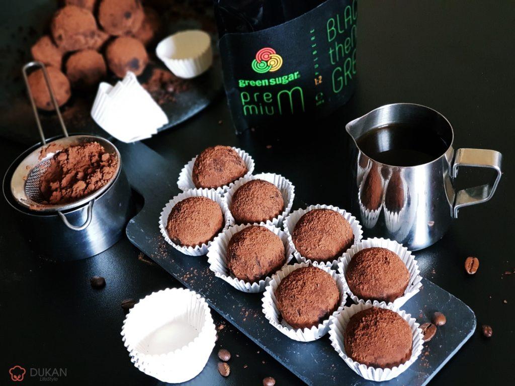 TRUFE TIRAMISU (Fara faina alba/ Sugar free/ Low carb/ Low fat)