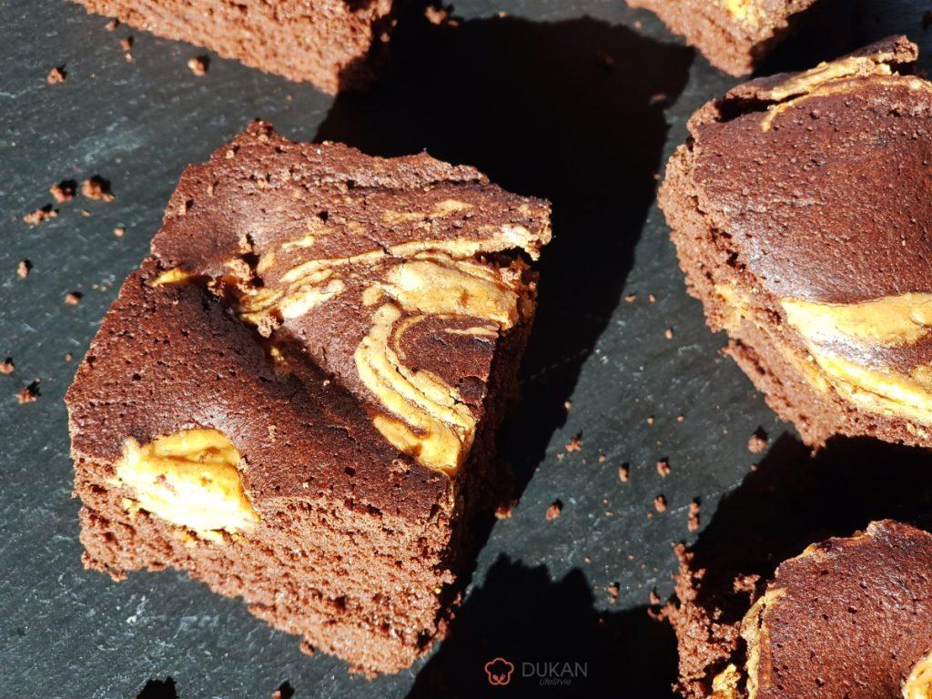BROWNIE /NEGRESA (Fara faina alba/ Sugar free/ Low carb/ Low fat/ Gluten free)