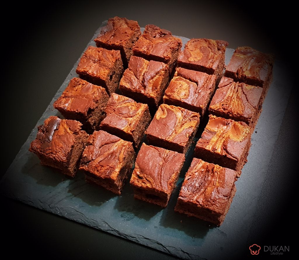 BROWNIE /NEGRESA (FARA FAINA ALBA/ SUGAR FREE/ LOW CARB/ LOW FAT)