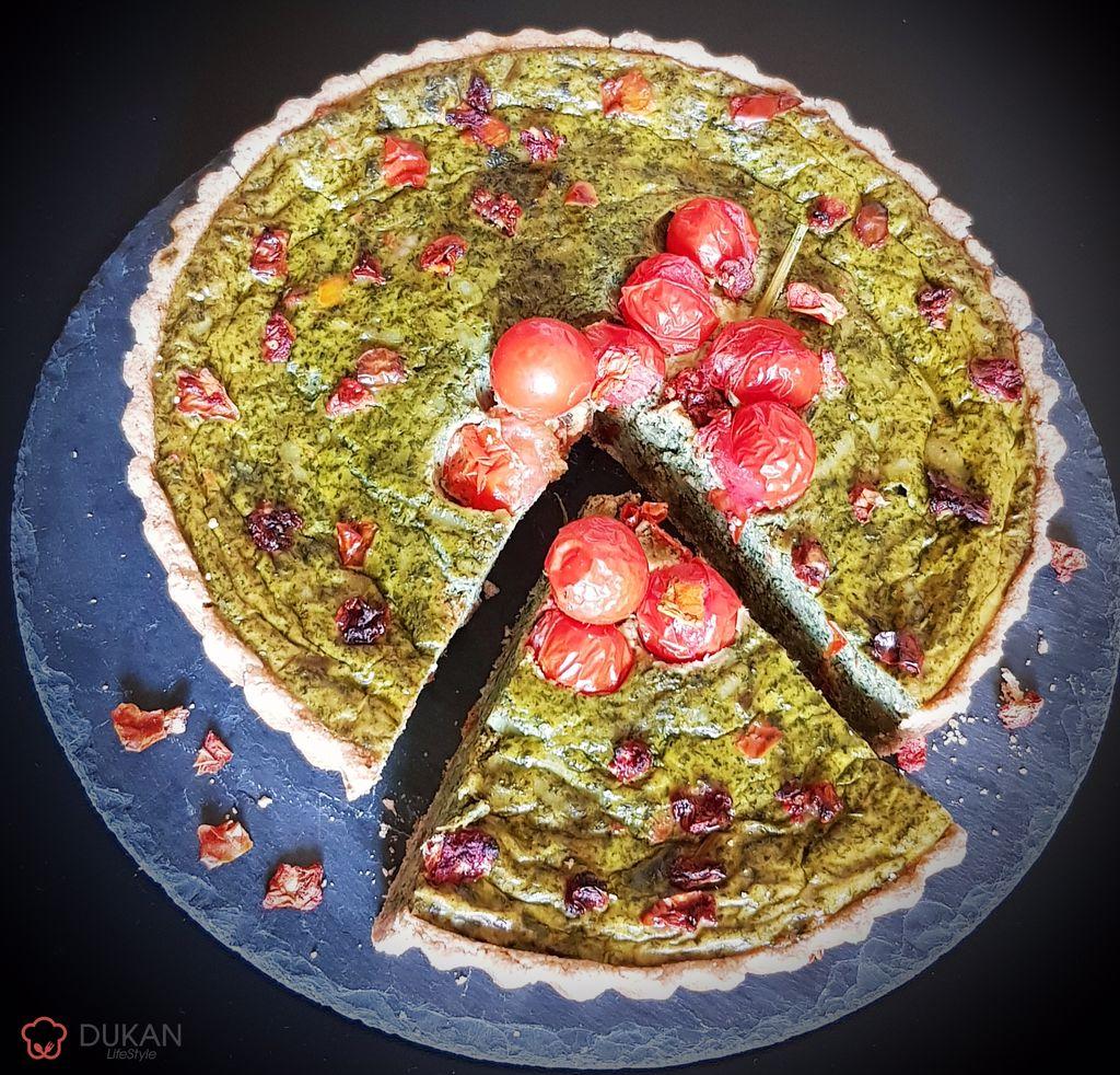 TARTA cu URZICI (Fara faina alba/ Sugar free/ Low carb/ Low fat)
